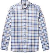 Todd Snyder Button-Down Collar Checked Cotton Shirt