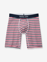 Tommy John Cool Cotton Surf Stripe Relaxed Fit Boxer