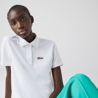 Lacoste Womens x National Geographic Cotton Pique Polo Shirt