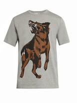 Balenciaga German Sheperd Print T-shirt