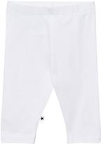 Molo Bright White Nette Solid Leggings