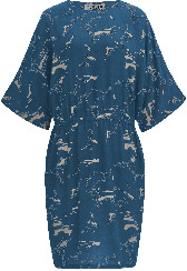 Komodo Ocean Obi Rayon Dress - ocean | Size 1 (UK8) - Ocean
