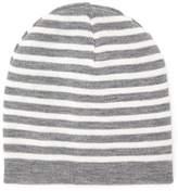 Forever 21 Stripe Fold-Over Beanie