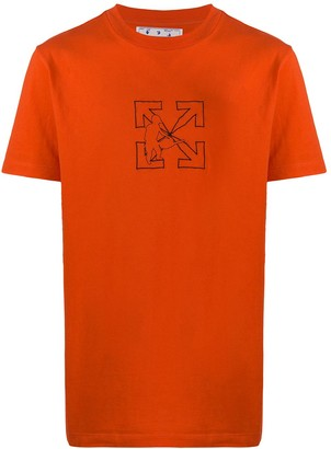 Off-White Workers logo-print T-shirt