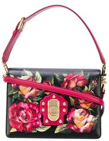 Dolce & Gabbana Dolce E Gabbana Women's Black/pink Leather Shoulder Bag.