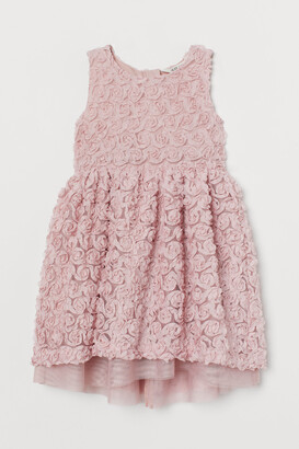 H&M Floral tulle dress