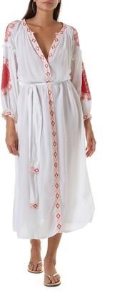 Melissa Odabash Iyla Cover-Up Midi Dress