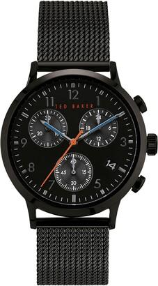 Ted Baker Men's Cosmop Mesh Bracelet Watch, 41mm