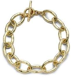 Ippolita Glamazon 18K Yellow Gold Mini Bastille Link Bracelet