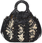 Patricia Nash Cuban Carved Collection Senise Satchel
