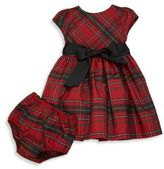 Ralph Lauren Baby's Two-Piece Tartan Dress & Bloomers Set