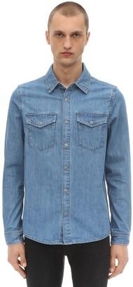 Ksubi De Nimes Cotton Shirt