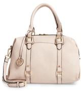 Linea Pelle Faux Leather Satchel - Pink