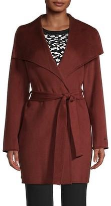 Tahari Ella Wrap Coat