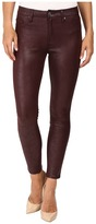7 For All Mankind Knee Seam Skinny in Merlot