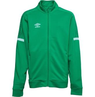 Umbro Junior Boys Training Legacy Track Jacket TW Emerald/White