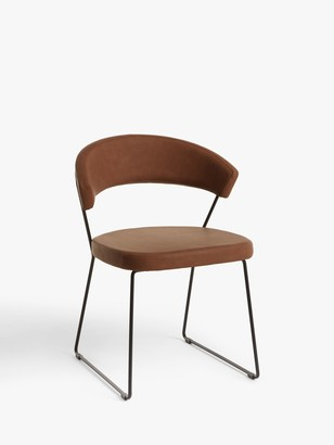 Connubia by Calligaris New York Faux Leather Dining Chair