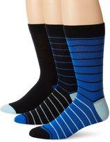 Ben Sherman Men's 3 Pack Nigel Crew Socks