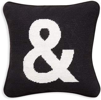 "Jonathan Adler ""&"" Needlepoint Throw Pillow"
