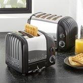 Crate & Barrel Dualit ® NewGen Matte Black Toaster