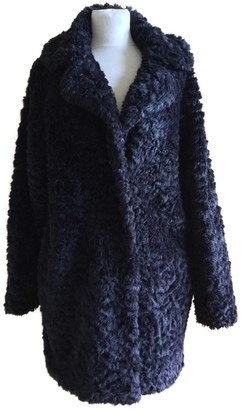 Vanessa Bruno Black Faux fur Coat for Women