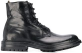 Officine Creative Army style boots