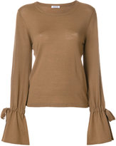 P.A.R.O.S.H. knit tied sleeve top