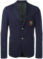Gucci Cambridge 70s stretch twill jacket - men - Polyester/Spandex/Elastane/Cupro/Wool - 50