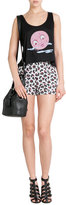 Anna Sui Deco Fan Printed Shorts