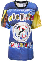 Moschino Milano logo T-shirt - women - Cotton - S