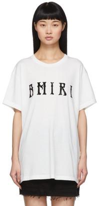 Amiri White Hippie T-Shirt