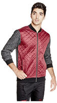 G by Guess GByGUESS Men's Mendren Quilted Bomber Jacket
