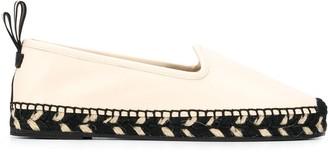 Bally Eddhie round-toe leather espadrilles