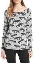 Soft Joie Women's Annora B Animal Print Sweatshirt