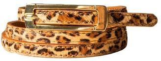 Black Halo Leopard Belt