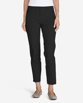 Eddie Bauer Women's StayShape® Twill Ankle Pants