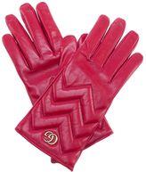 Gucci Marmont Gg Chevron Gloves