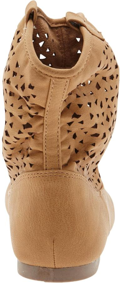 Old Navy Girls Perforated Faux-Leather Boots