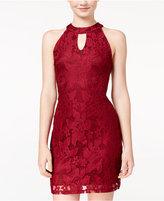 Speechless Juniors' Lace Sheath Dress