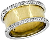 Effy Jewelry Moderna Two-Tone Diamond Ring, 0.36 TCW