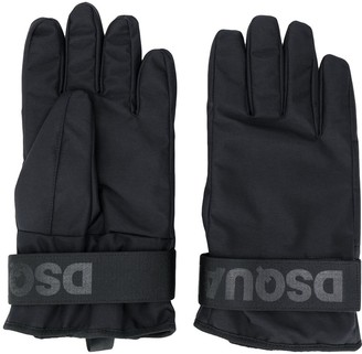 DSQUARED2 Logo Strap Ski Gloves