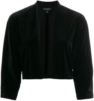 Lauren Ralph Lauren loose-fit cropped jacket