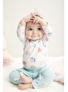 Carter's Baby Girls 3-Pc. Bunny Baby Cotton Bodysuits & Pants Set