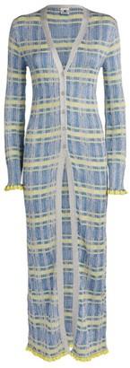 M Missoni Lurex Stripe Long Cardigan