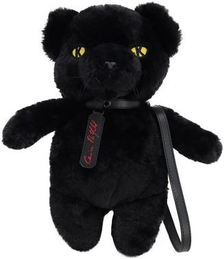 Karl Lagerfeld Paris X Carine Faux Fur Panther Bag