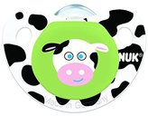 NUK Advanced Clear Shield Orthodontic Pacifier, Size 1, Assorted colors by