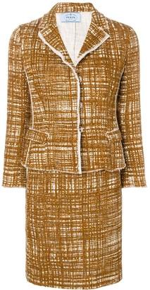 Prada Pre-Owned bouclé two-piece suit