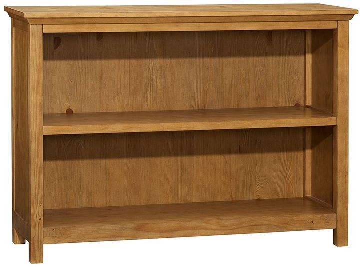 Pottery Barn Kids Cameron 2-Shelf Bookcase, Weathered Pine