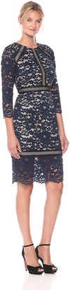 Vince Camuto Women's Lace Bodycon Dress