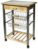 Bed Bath & Beyond Rolling Kitchen Cart with Two Baskets